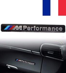 Sticker Emblème Métal BMW M Performance Logo 3D Autocollant Noir