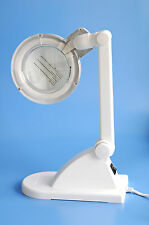 Table Magnifiers Lamp Light Stand Magnifying Glass 12 Diopters 3x LED Cold