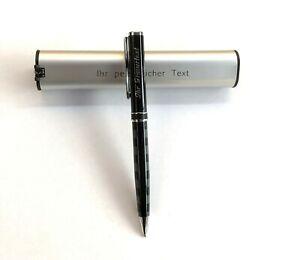Exclusiver Premium Metall Kugelschreiber  mit Ihrer Gravur auf Kuli und Etui