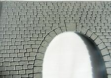 DOUBLE STONE TUNNEL PORTAL FOR MODEL RAIL HO GAUGE, BRAND NEW