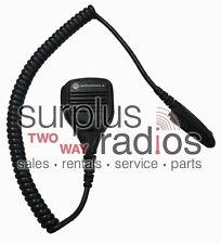 New Motorola Speaker Mic Pmmn4021A Ht750 Ht1250 Ht1550 Mtx8250 Mtx850 Mtx9250