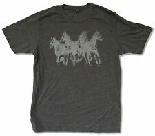 "MUMFORD & SONS ""HORSES NON-TOUR"" GREY T-SHIRT NEW OFFICIAL BAND FOLK X-LARGE XL"