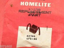 genuine HOMELITE 42346 spring, clutch trimmer cultivator NOS OEM