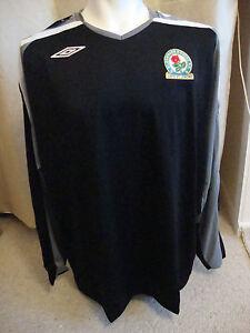 Blackburn Rovers 2007 - 2008 Home Goalkeeper Shirt Umbro BNWT (XL) Sponsorless