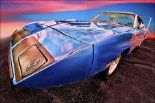 1970 Plymouth Road Runner Superbird 13x19 Photo Art Poster Print Mopar 440 HEMI