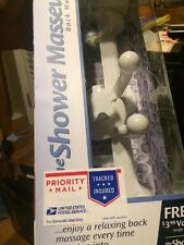 The Shower Masseuse back massager w/massage oil  (NIB)