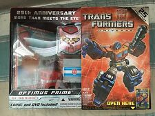 Hasbro Transformer Universe 25th Anniversary G1 Optimus Prime