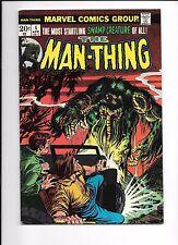 The Man-Thing #4 April 1974 origin Foolkiller last original Foolkiller
