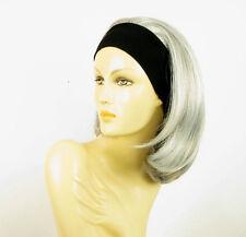 Stirnband Perücke frau mit lang grau MADY 51