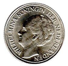 """25 Cents 1939 """"Wilhelmina""""  in prägefrisch/unzirkuliert"""