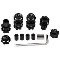 Hot Racing TFF17XT01 Aluminum 17mm Hex Hubs 10mm Offset Arrma 1/10 4S BLX