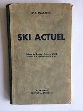 SKI ACTUEL 1937 HALLBERG ILLUSTRE
