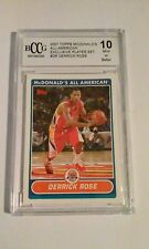*** 2007 Derrick Rose Topps McDonalds All-American Exclusive #DR Mint 10 ***