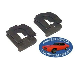 Ford Mercury Automatic Transmission Kick Down Shift Rod End Retainer Clip 2pc LD