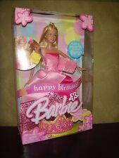 BARBIE DOLL 2004 HAPPY BIRTHDAY BARBIE DOLL IN BEAUTIFUL BALLGOWN