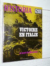 HISTORIA 2ème GUERRE MONDIALE 39-45 ITALIE MORT MUSSOLINI TITO LANCASTER MUSTANG