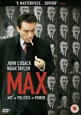 Max (2004) John Cusack, Noah Taylor, Leelee Sobieski, Molly NEW SEALED UK R2 DVD