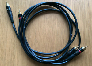 "Linn Black 1.2m Analogue Interconnect ""Conn 343"""