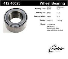Wheel Bearing-Premium Bearings Front Centric 412.40023