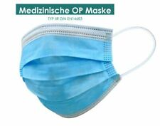 Mundschutz 3-lagig Typ IIR Medizinische OP Maske Einweg  DIN EN 14683