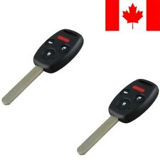 2x New Replacement Keyless Entry Remote Control Key Fob For Honda Civic