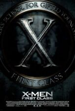 X-Men First Class Movie Poster Xavier School for Gifted Youngsters 2011