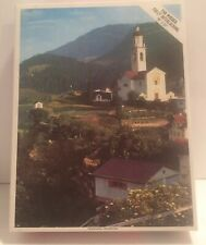 NIB Sealed Tiefencastle Switzerland Puzzle Whitman 750 Peices Landscape 18x22""