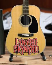 Lynyrd Skynyrd - Officially Licensed Logo Natural Finish Acoustic Mini Guitar