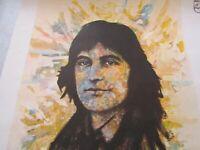 """Affiche / Serge Lama par Eddy et Jean Chapelle 1973 / 60X39cm / """"Chez moi"""""""