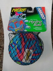 """VINTAGE  NERF BLUE 4"""" HYDRO BALL 1992 KENNER NEW IN PACKAGE"""