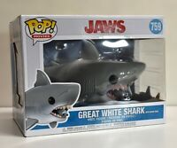 Funko Pop! Movies Jaws Great White Shark (with diving tank)
