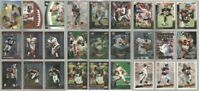 Atlanta Falcons 27 card 1999 insert lot #1-all different