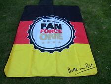 Bitburger Fan Force One Deutschland  Stranddecke Decke siehe auch  Fotos