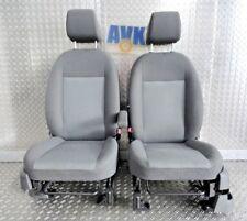 Sitz Sitze vorn rechts links mit Airbag, Stoff grau, Ford Focus C-Max
