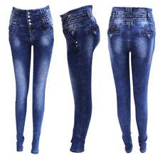 89a8a91866 Jeans Levanta Cola Baratos cintura alta   Vaqueros Push Up Costilleros