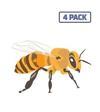 Bee Insect Beeswax Beekeeping Beehive Animal Wasp Sticker Vinyl Decal 1-258