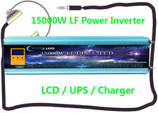 60000W/15000W LF Pure Sine Wave 12VDC/110VAC 60HZ Power Inverter LCD/UPS/Charger