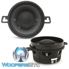 "JBL GTO-329 3.5"" CAR AUDIO 50W RMS 2-WAY SOFT DOME TWEETERS COAXIAL SPEAKERS NEW"