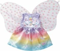 Zapf Creation Baby Born Unicorn Outfit 39-43cm Dolls Baby Doll Costume Accessory