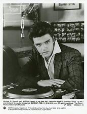 MICHAEL ST GERARD RADIO STUDIO PORTRAIT ELVIS PRESLEY ORIGINAL 1990 ABC TV PHOTO