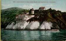 Lighthouse Light House Yerba Buena Island San Francisco Bay CA Postcard B3