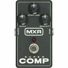 MXR Guitar Compressor & Sustainer Pedals