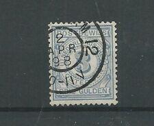 Nederland PW4 Postbewijs 3Gld  VFU/gebr CV 110 €