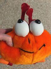 Red & Orange Millipede Plush Toy 32 in. Peek A Boo Toys