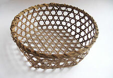 ANTIQUE SHAKER CHEESE BASKET SMALL SIZE