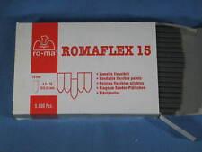 Box of 5000 pcs Genuine Romeo Romaflex 15 Flexible Points 4.5mm x 15mm x 0.38mm