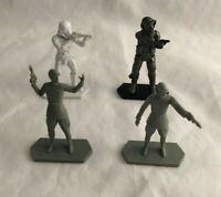 Lot of 4 Hasbro 2014 Star Wars Command Epic Assault Figures - Stormtrooper