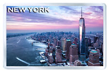 NEW YORK WINTER MOD2 FRIDGE MAGNET SOUVENIR IMAN NEVERA