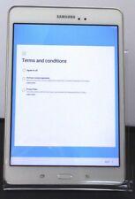Samsung Galaxy Tab A SM-T350 16GB, Wi-Fi, 8in - White  10-7F