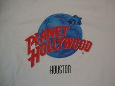 Planet Hollywood Casino Houston TX Souvenir White Cotton T Shirt Size M